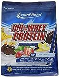 IronMaxx 100% Whey Protein – Whey Proteinpulver Schokolade auf Wasserbasis – Eiweißpulver für Eiweißshake mit Milchschokoladen Geschmack – 1 x 900 g Beutel