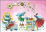 Weihnachtskarte Nina Chen ~ Engel in der Weihnachtsbäckerei