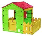 Farmhaus Gartenhaus für Kinder 118 x 106 x 127 cm Kunststoff