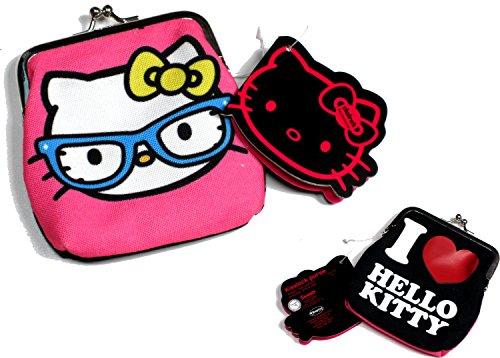 Claire'Hello Kitty I Love, Hello Kitty mit Brille, Streber-Geldbörse