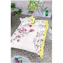 Designers Guild funda de edredón satén de algodón Acacia, satén de algodón, Acacia, 240 x 220 cm