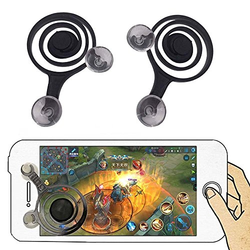 KELWORLD™ Mobile Joysticks Phone Game Mini - Portable Touch Screen Game Controller for All Smartphone