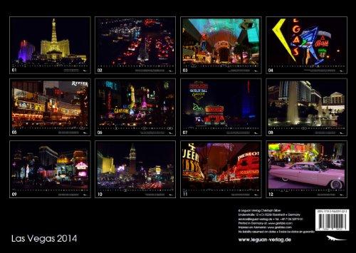 Las Vegas Calendar 2014 englisch/spanisch -