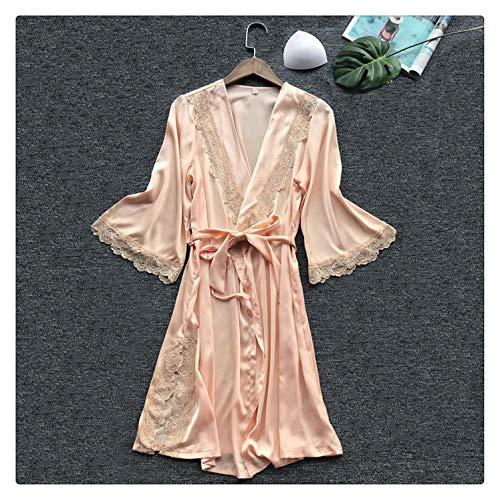 Cherokee Cotton Belt (EXLEXD& Womens Night Sexy Sleepwear Lingerie Lace Temptation Belt Underwear Nightdress 888 Beige S)