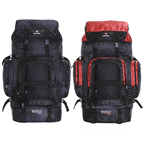 karabar makalu 80 litres travel backpack