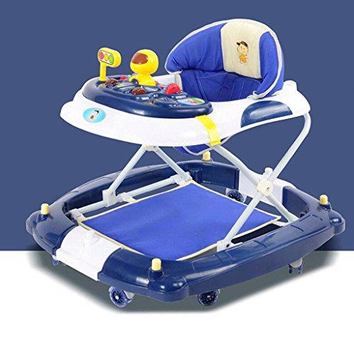 ZHAOJING Lauflernhilfe 6 / 7-18 Monate Baby Anti-Roll-Multifunktions-Baby lernen, zu Fuß, Musik zu falten ( Farbe : A )