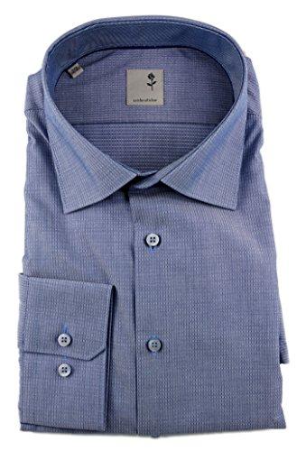 Seidensticker -  Camicia classiche  - A pois - Classico  - Uomo Blau