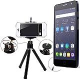 Galleria fotografica Smartphone Tripod / basamento mobile / cavalletto come per Alcatel One Touch Pop Star 3G. Alluminio Treppiede...
