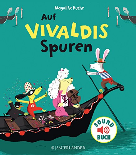 Auf Vivaldis Spuren (Soft-Touch-Soundbücher) - Cd Kinder Auf Bücher Für