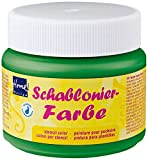 Home Design 74317 - Schablonierfarbe Moosgrün 150 ml