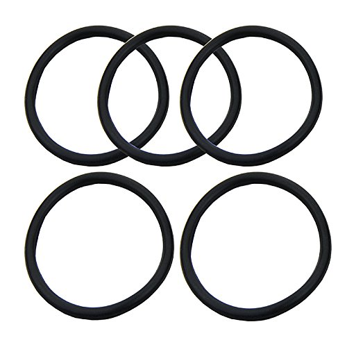 5x/lot neue Silikon Cornelius Typ Keg Dichtung Ersatz-Kit für O-Ring Gummi schwarz - Homebrew-keg-kit