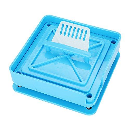 Zerone Manuelle Kapsel Füllung 100 Löcher 0# oder 00# Vitaminen Kaffee in Pulver und Pulvertabletten für die bessere Reinigung Handbuch. 0# Azul