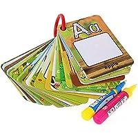 Libro para colorear La magia del agua Con 2 Pluma del agua de,AEVEA Agua Reutilizable Dibujo libro 26Pcs