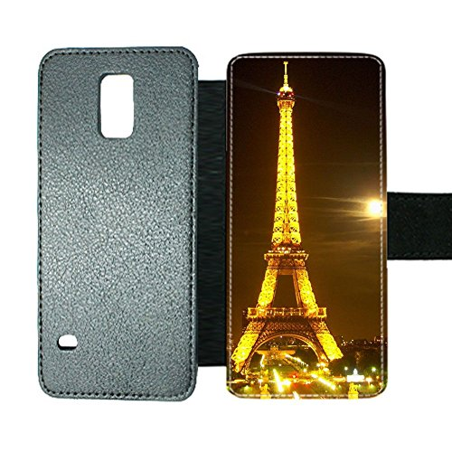 Card Slot For Boy Phone Cases Unique Print With Eiffel Tower For Samsung Galaxy S5