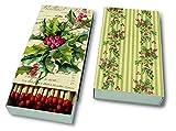 Streichhölzer Kaminholz Kaminhölzer Stechpalme Weihnachtsblume Weihnachten Winter Schnee Tiere Wald