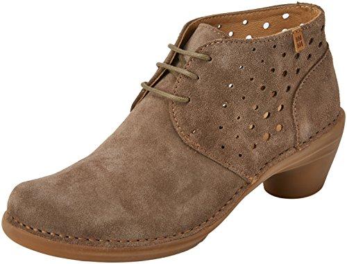 El Naturalista 5323, Zapatos de tacón con Punta Cerrada para Mujer, Verde Land 000, 39 EU