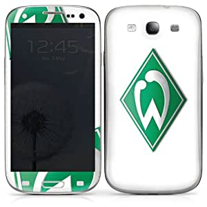 Samsung Galaxy S3 Case Skin Sticker aus Vinyl-Folie Aufkleber Werder Bremen Fanartikel fußball