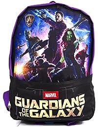 Preisvergleich für Marvel/Oxbridgesatchels, Kinderrucksack schwarz/violett Height 35cm Width 23cm Depth 13cm