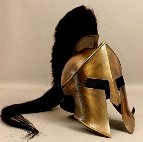 ANTIQUENAUTICAS 300 König Leonidas Spartan Helm Krieger Kostüm Mittelalter Helm Liner Geschenkartikel