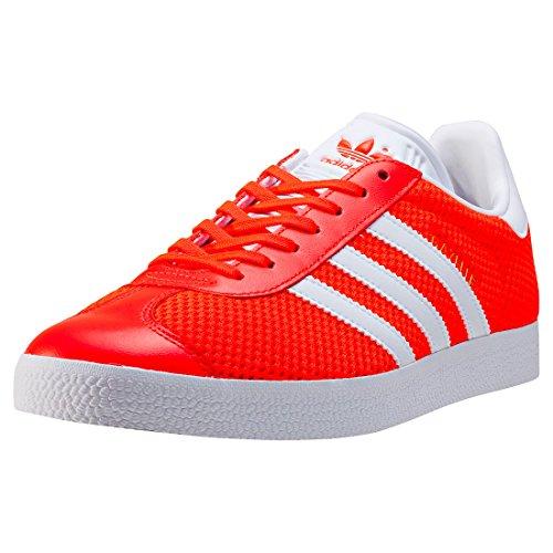 adidas Gazelle, Scarpe da Ginnastica Basse Uomo Red White