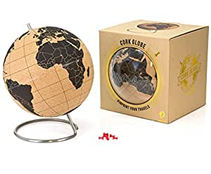 Suck Uk Cork Globe Map Of The World