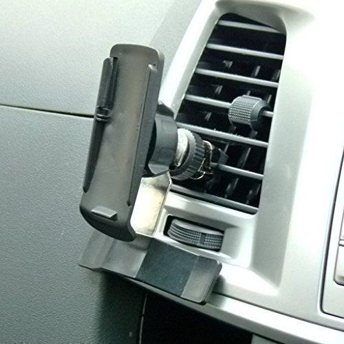 BuyBits Ultimate Kfz-Halterung, für Luftauslässe, GPS KFZ Halterung für Garmin Oregon 400t 450 450t, 200/300/550/550t 600 650 650t 600t (Garmin Oregon 550t Gps)