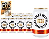 Infinite Session Birra senza alcool (PILS - Craft Lager, Case of 12 Lattine)