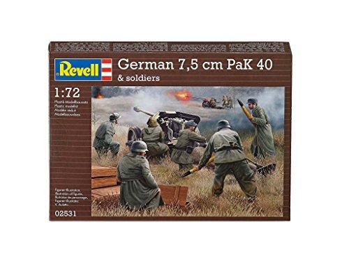 Revell- soldatini tedeschi set di figurine, scala 1:72, multicolore, 02531