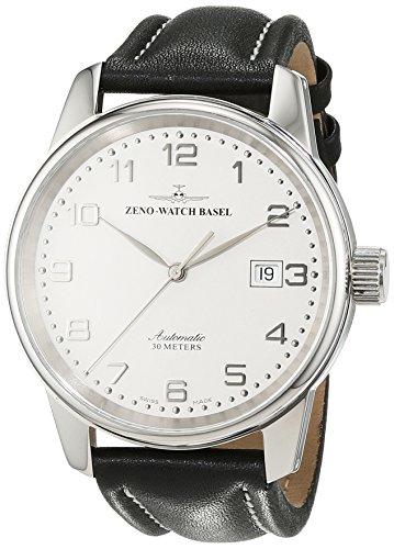 Zeno Watch Basel Herrenarmbanduhr Pilot Classic 6554-e2