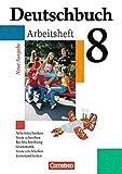 Deutschbuch Gymnasium - Allgemeine Ausgabe: Deutschbuch 8. Schuljahr Gymnasium. Neue Ausgabe. Arbeitsheft mit Lösungen