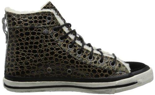Diesel MAGNETE EXPOSURE IV W Y00638 P0145, Sneaker donna Nero (Schwarz (dusty green/black H2392))