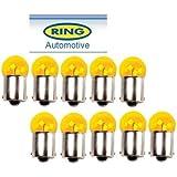 10 Ampoules BAU15S 12v 10w RY10W Orange