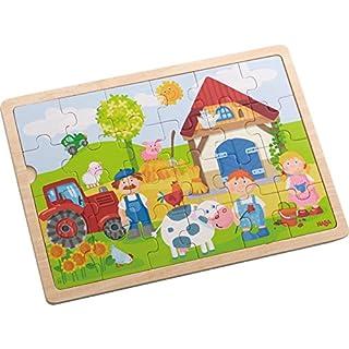 Haba 301942 - Holzpuzzle Antons Bauernhof