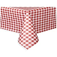 THE TABLECLOTH SHOP Red Gingham Paper Table Covers x 25
