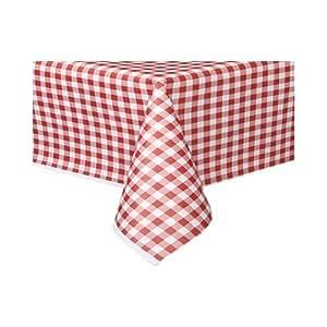 the tablecloth shop lot de 25 nappes en papier vichy rouge. Black Bedroom Furniture Sets. Home Design Ideas