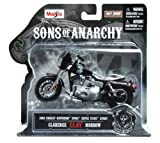 Sons of Anarchy motorcycle models;Four different models available, supplied at random;Based on bikes from the popular US TV series;1:18 scale, highly detailed;Authentic decals from the show