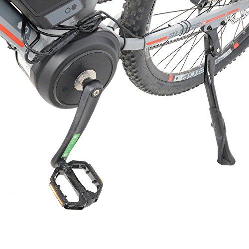 "51FjLgT19FL. SS500  - Surge Mens 27.5"" Wheel Mid Drive Electric Mountain Bike, 8 Speed shimano Acera Gears"