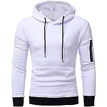 b10951b67ee6 Sweatshirt à Capuche Tops Veste Manteau Outwear Sweat à Capuche à Manches  Longues pour Hommes Malloom