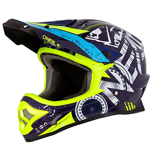 O'Neal 3Series Helium Motocross Helm MX MTB FR DH All Mountain Bike Freeride Downhill Fahrrad,...