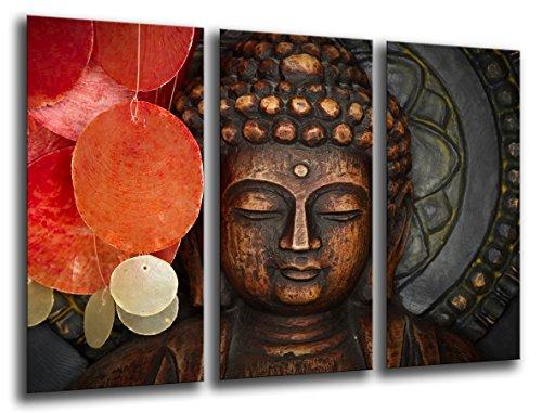 Cuadro fotografico base madera, 97 x 62 cm, Buda, Buddha retro, Meditacion ref. 26007