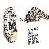 Treat Me Hundehalsband mit Leine Moderne Kette Einmaliges Design Hund Halsband für Kleine Mittlere Große Hunde