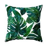 CUIGU Fashion Tropical Plant Cactus Sofa Home Throw Pillow Cushion Case Cover 45x45cm
