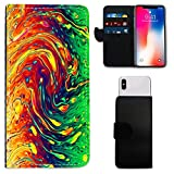 i-Tronixs MEDION LIFE S5004 FIRE Effect WALLET CASE (5
