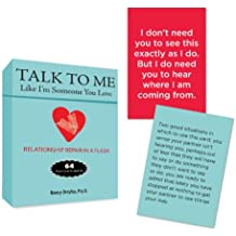 Talk to Me Like I'm Someone You Love: Relationship Repair in a Flash--64 Flash Cards for Real Life