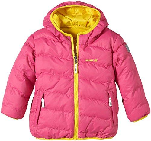 Kamik veste réversible confortable pour jeune femme Jaune/noir - Citron vert