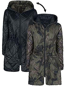 Forplay Padded Reversible Jacket Chaqueta Mujer camuflaje/negro XL