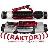 Raktor Reaktiv Hanteln Set, Transparent/Rot/Schwarz, 1000