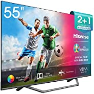 "Hisense UHD TV 2020 55AE7400F - Smart TV 55"" Resolución 4K, Dolby Vision, Wide Color Gamut, audio DTS Vir"