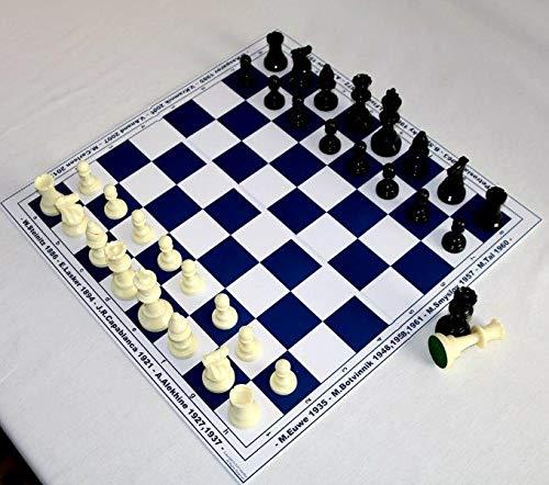 HenRal-New-Schachbrett-schachspiel-Schach-Set-Schach-Chess-Set-Unique-Design-Eco-Board-Pieces-Champions-50mm-Field-Blue-EINZIGARTIGES-KLAPPBAR-SCHACHBRETTSPIEL-Set-N5-BLAU HenRal New Schachbrett schachspiel Schach Set Schach – Chess Set Unique Design Eco Board + Pieces. Champions, 50mm Field Blue – EINZIGARTIGES KLAPPBAR SCHACHBRETTSPIEL-Set N5 BLAU -