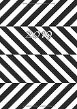 2019: Jan - Dez Wochenplaner | Größe A5 | 1 Woche auf 2 Seiten | 52 Wochen Buchkalender | Optische Illusion
